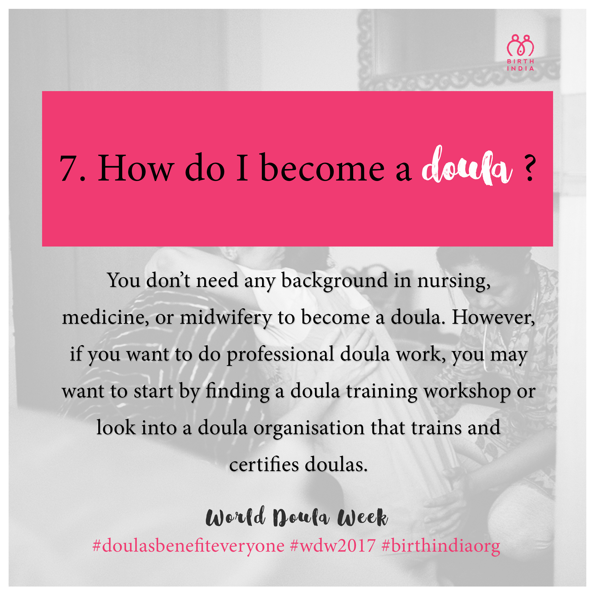 7 things to know about doulas in india the most well known doula certifying organizations would be doulas of north america dona international childbirth international cbi childbirth and aiddatafo Image collections