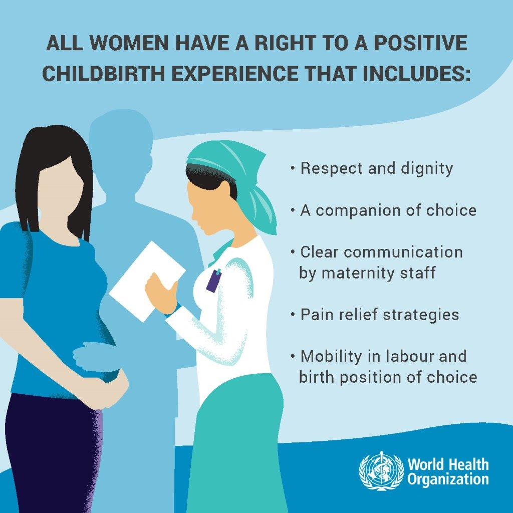 Right To Positive Childbirth Experience | WHO